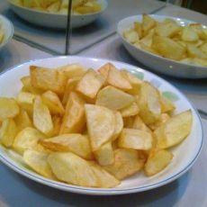 五香炸土豆块