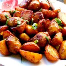 黑胡椒咖喱小土豆的做法