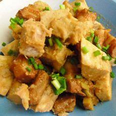五花肉炖香芋