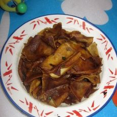 五香油炸干豆腐