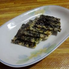 五香紫菜蛋饼