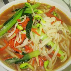 肉臊子汤面