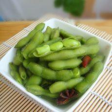 五香盐水毛豆