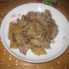 米粉土豆蒸肉