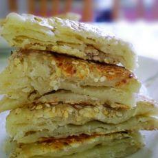 香脆芝麻五香饼
