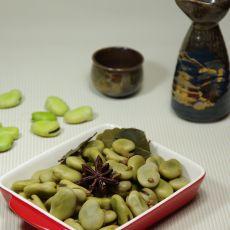 五香煮蚕豆的做法