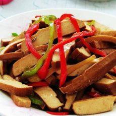 五香炒豆干