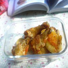 土豆烤翅根