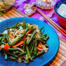 蟹柳四季豆