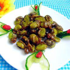 油酥蚕豆的做法
