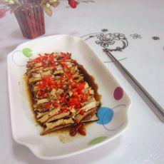 蒜米豆腐丝的做法