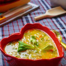 鸡肉糯米粥