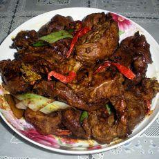 五香焖牛肉
