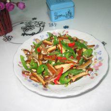 香炒卤味---卤豆腐炒卤耳朵
