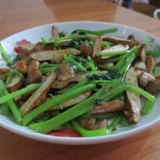 五香豆腐炒芹菜