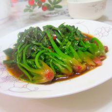 卤香菠菜的做法