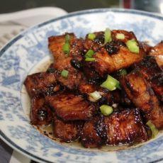 豆瓣酱煮五花肉[原创首发]