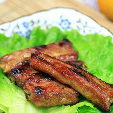 肉酱烤排骨