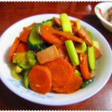 酱香红萝卜的做法
