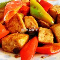 酱香葱油豆腐