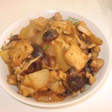 冬瓜炖香茹豆腐