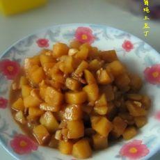 黄豆酱炖土豆丁