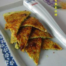 酱香黄瓜丝饼的做法