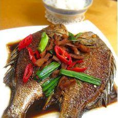 酱油水莱脯黄翅鱼