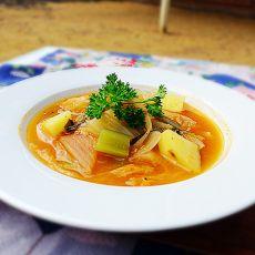 芹菜泡菜味噌汤