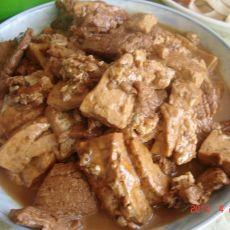 酱炖大豆腐的做法