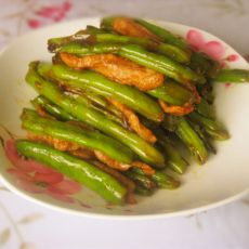 蚝汁油焖四季豆的做法