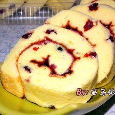 蔓越莓瑞士蛋糕卷