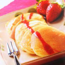 草莓煎饼的做法