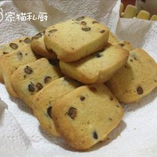 香草蜜豆饼干