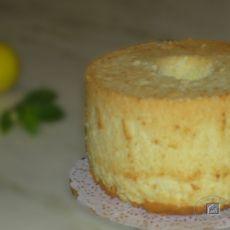 柠檬奶酪戚风蛋糕