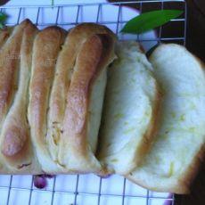 卡仕达柠檬手撕面包
