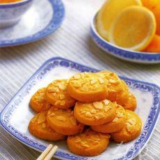 柠檬香草杏仁饼