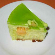 柠香慕司蛋糕