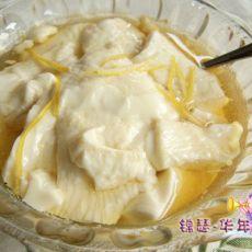 柠香甜豆花
