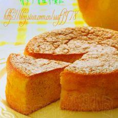 胡萝卜香橙冰蛋糕