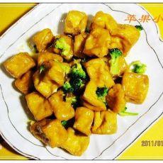 橙汁豆腐的做法
