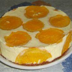 香橙卡士达慕斯蛋糕的做法