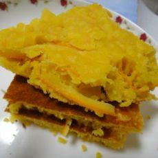 香橙玉米发糕的做法