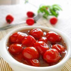红酒渍樱桃番茄果