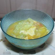 番茄煎蛋蔬菜汤