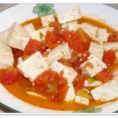 超鲜番茄豆腐的做法