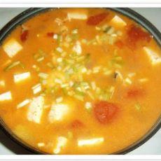 番茄豆腐鱼骨汤