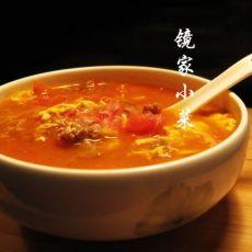 番茄牛肉鸡蛋汤