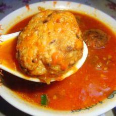 番茄肉圆汤