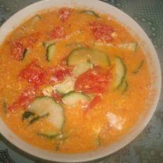 海米番茄黄瓜汤